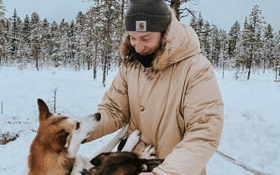 Lapponia Svedese: avventura by train tra luci del nord e husky